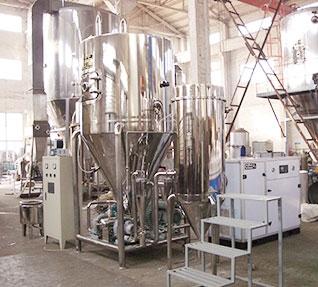 大型喷雾干燥机使用结束之后的操作工作