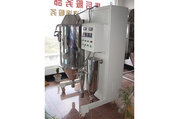 实验型高温喷雾干燥机的热风温度