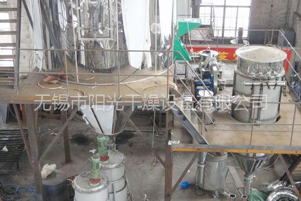 喷雾干燥机在试运行的过程中实际操作是怎么样的?