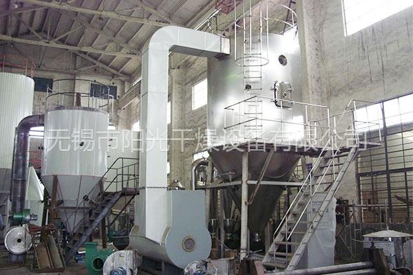 分析卧式喷雾干燥机杂质多纯度低的原因及办法